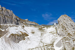 Pilatus peak, Switzerland Royalty Free Stock Images
