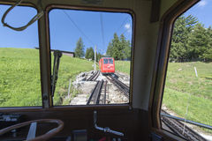 Pilatus Railway, Switzerland royalty free stock photo