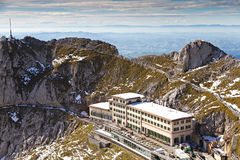 Pilatus top, Switzerland Stock Photos