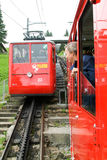 Pilatus train, the world's steepest cogwheel railway Royalty Free Stock Photo