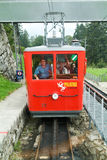 Pilatus train, the world's steepest cogwheel railway Stock Photos