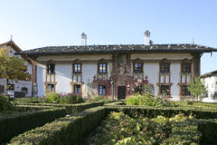 Pilatushaus house in Oberammergau, Bavaria Stock Photo