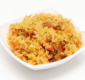 Pilau. Rice pilau on a plate Stock Photography