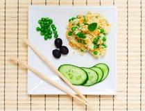 Pilau avec des légumes. Images libres de droits
