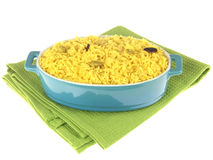Pilau Rice Stock Photo