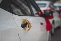 Pilbågar vid bilen 1001 Royaltyfri Bild