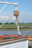 Pilbåge för livfartyg Royaltyfri Foto