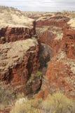 pilbara парка karijini Австралии Стоковое Изображение RF