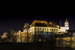 Špilberk Castle. (German: Spielberg) is a castle on the hilltop in Brno, Southern Moravia, Czech republic. During the history it served as fortress and prison Royalty Free Stock Images