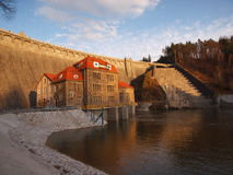 Pilchowice dam Stock Photos