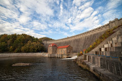 Pilchowice Dam in Poland Royalty Free Stock Photo
