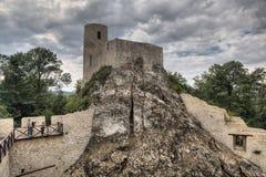 Pilcza Castle, Smolen in Poland Royalty Free Stock Photos