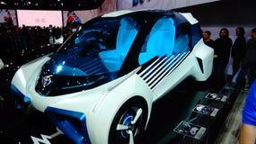 Pile à combustible hybride de Toyota Photographie stock libre de droits