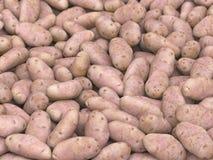 Pile énorme des pommes de terre illustration stock