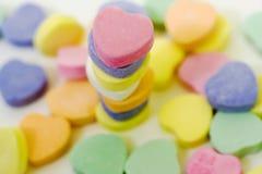 Pile 4 de sucrerie de Valentine Photos stock
