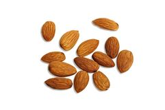 Pile of Almonds Royalty Free Stock Photo