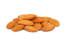 Pile of almonds () Stock Image