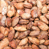 Pile of almonds Royalty Free Stock Photography