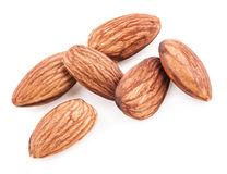 Pile of almonds Stock Image