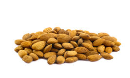 Pile of Almonds Stock Photos