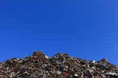 Pile of Aluminium scrap Stock Photography
