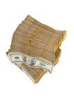 Pile américaine du dollar photo libre de droits