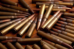 Pile of ammunition Stock Photography