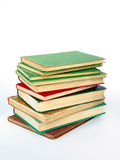 Pile of antiquarian books Stock Image