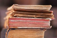 Pile of antique books Stock Photo