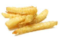 A pile of appetizing french fries Royalty Free Stock Photo