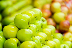 Pile of apples Stock Images