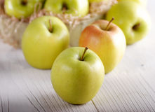Pile of apples Stock Image