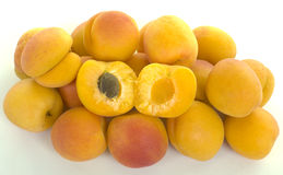 Pile of Apricots Royalty Free Stock Photography
