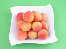 Pile of apricots Stock Image