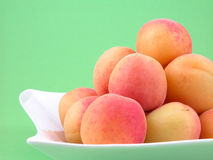 Pile of apricots Stock Photography