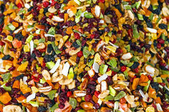 Pile of aromatic dried fruit Stock Photography