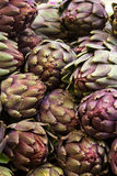 Pile of Artichoke wale in Jerusalem Stock Photos