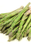 A pile of asparagus Stock Image