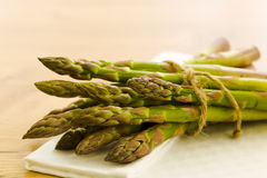 Pile of asparagus Stock Photos