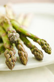 Pile of asparagus Royalty Free Stock Image