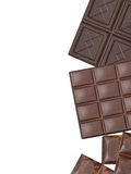 Pile of assorted chocolate bars Stock Photography