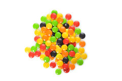Pile assorted hard candy Royalty Free Stock Photo