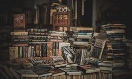 Pile of Assorted Novel Books Royalty Free Stock Image