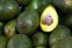 Pile of avocado royalty free stock photos
