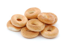 Pile of bagels Royalty Free Stock Photo