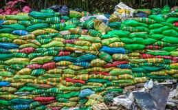 Pile of bags Stock Photos