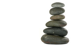 Pile of Balanced Stones Royalty Free Stock Image
