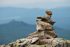 Pile of balanced stones Stock Photography