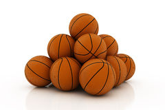 Pile of balls Royalty Free Stock Photos