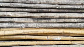 Pile of Bamboo for backgrond. And texture Royalty Free Stock Images